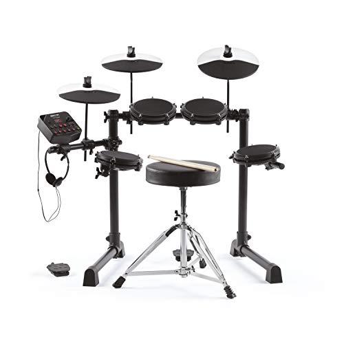 Alesis Debut Kit – Kinder Drum Kit mit 4 Mesh E-Drum Set Pads, 120...