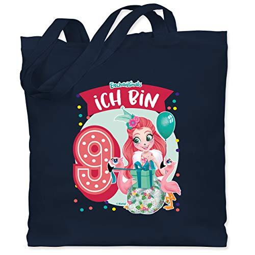 Shirtracer Enchantimals Tasche - Ich bin 9! - Fanci Flamingo - Unisize...