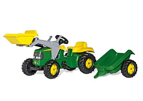 rolly toys | rollyKid John Deere | Kinder Trettraktor mit Frontlader...