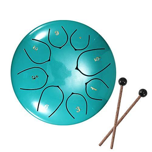 Slit Drums Steel Tongue Drum 6' 8 Tone D Key Handpan Drum with...