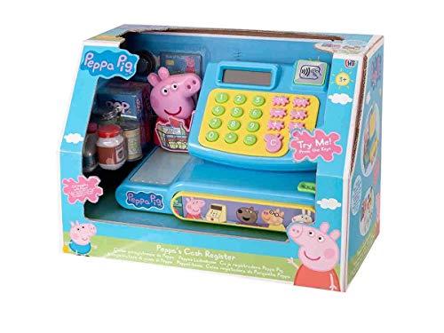 Peppa Pig 1684277.INF Peppa Wutz Spielzeug-Kasse mit Geräuschen