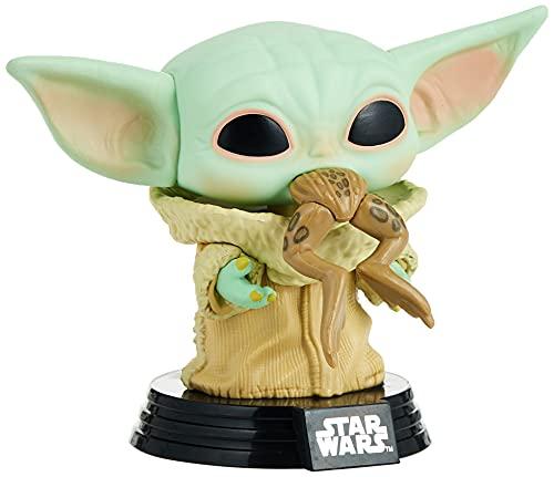 Funko 49932 POP Star Wars:The Mandalorian-The Child w/Frog Sammelbares...