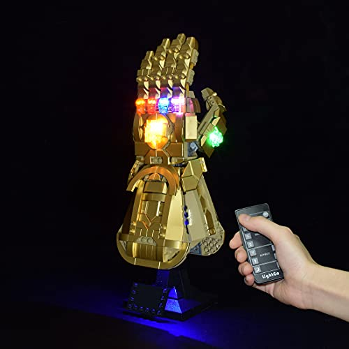 Sugeren LED Licht Set Kompatibel mit Lego Marvel Infinity Gauntlet,...