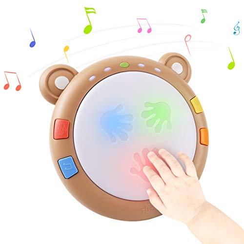 TUMAMA Baby Musical Elektronisches Spielzeug,Baby Musik Trommel...
