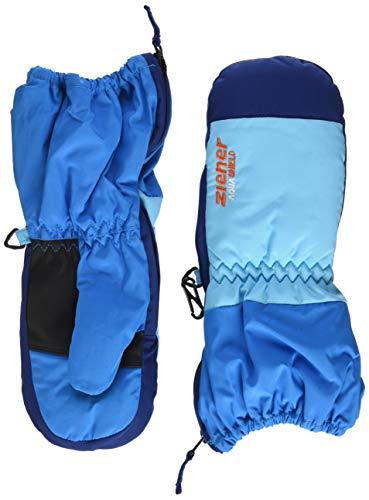 Ziener Baby LEVI AS MINIS glove Ski-handschuhe / Wintersport | wasserdicht, atmungsaktiv, , blau (sea), 98cm