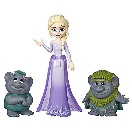 Hasbro Disney Die Eiskönigin kleine ELSA Puppe mit Trollen,...