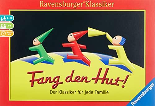 Ravensburger 26736 - Fang den Hut - Hütchenspiel für 2-6 Spieler,...
