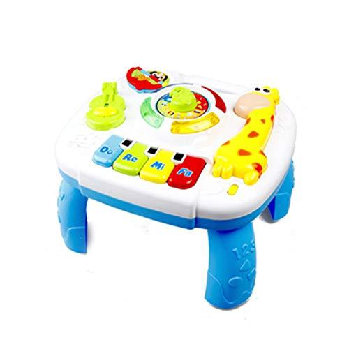 N / C Musikstudientisch, multifunktionaler Baby-Musiktisch,...