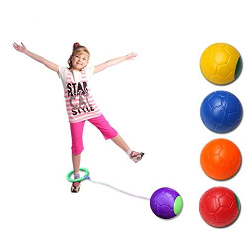 Gohhey Skip Ball Jumping Ball Faltbare Blinkender Springring Kinder...