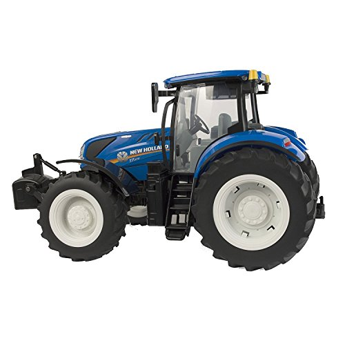 TOMY Britains - New Holland, T7.270 - Kinder Traktor mit Sound und Licht - mit Schaufel zum Anstecken -...