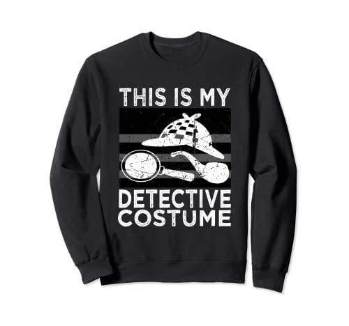 Detektiv-Kostüm, Hemd für Herren, Damen, Kinder Sweatshirt