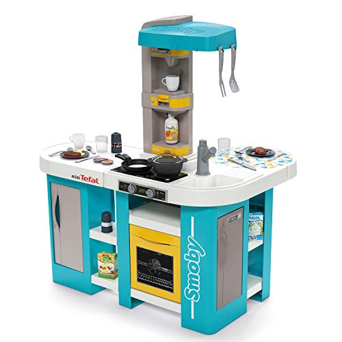 Smoby 311045 - Tefal Studio Bubble XL Küche - Küche in extravaganter...