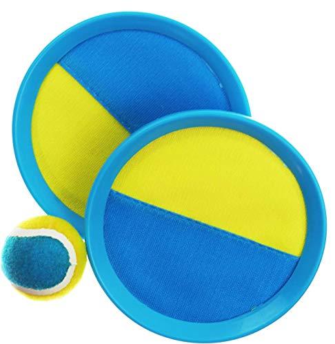 L + H WORLD Klettballspiel 19 cm in Premium Qualität   Fangballspiel...