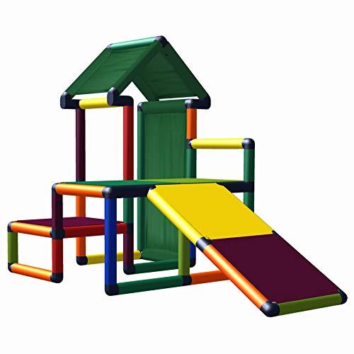 Nemo Mein erstes Mas Spielhaus mit Kleinkindrutsche für Kinderzimmer...