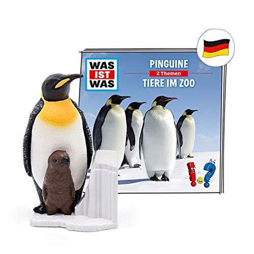 tonies Hörfigur für Toniebox, was IST was – Pinguine & was IST was...