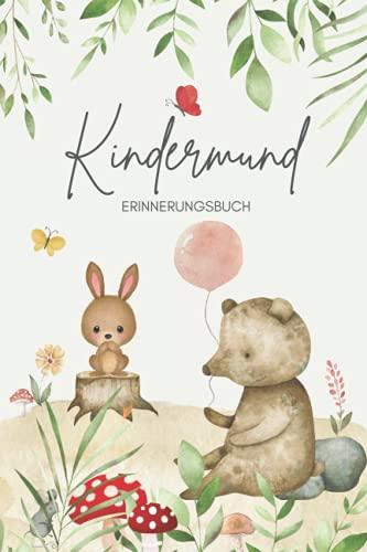 Kindermund Erinnerungsbuch Baby: Wortschatzsammler für Kindersprüche...