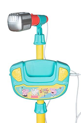 TLV Peppa Pig PEPMMS Peppa Pig Karaoke Kids MP3 Mikrofon mit Ständer