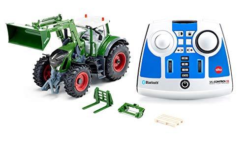 siku 6796, Fendt 933 Vario Traktor mit Frontlader, grün, Metall/Kunststoff, 1:32, Ferngesteuert, Inkl....