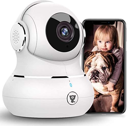 [2021 Neueste] Überwachungskamera Innen, Littlelf WLAN IP Kamera,...