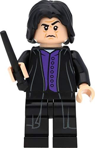 LEGO Harry Potter Minifigur Professor Severus Snape (dunkelviolettes...
