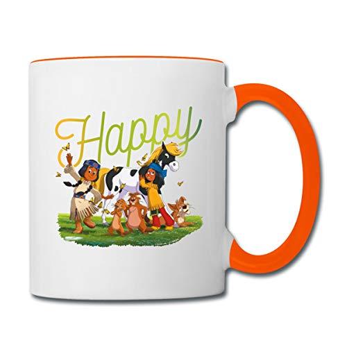 Yakari Der Kinofilm Glücklich Happy Tasse zweifarbig,...