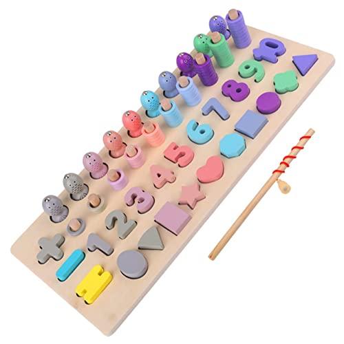 Dswe Zahlen und Formen Sortierspiel Vier-in-Eins-Lernspiele Spaß...