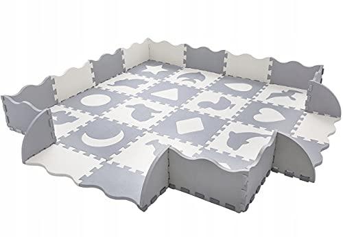 Hochwertige wasserdichte Puzzlematte Kinder-Spielteppich Spielmatte...