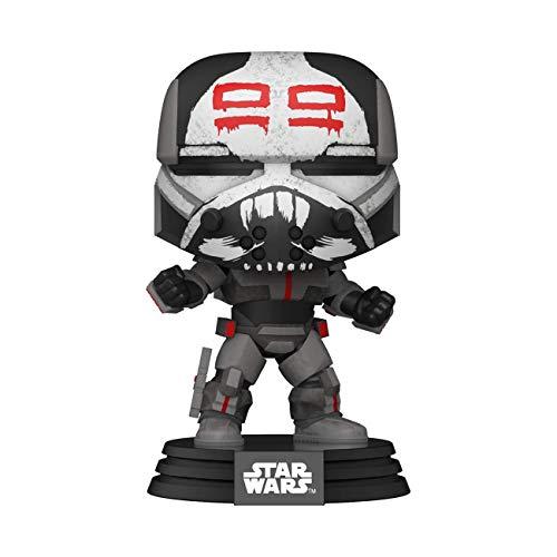 Funko 52027 POP Star Clone Wars-Wrecker Sammelbares Spielzeug, Mehrfarben