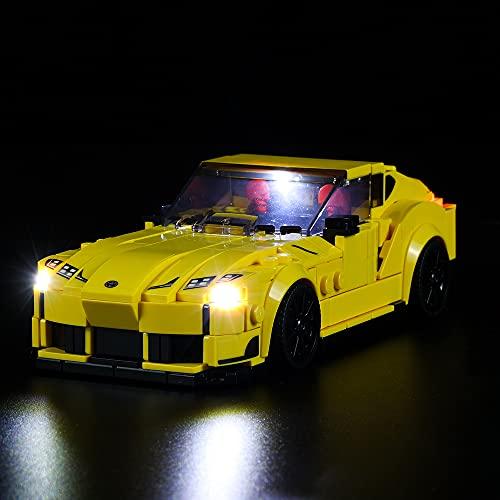 QXQY Led Beleuchtungsset für Lego 76901 Speed Champions Toyota GR...