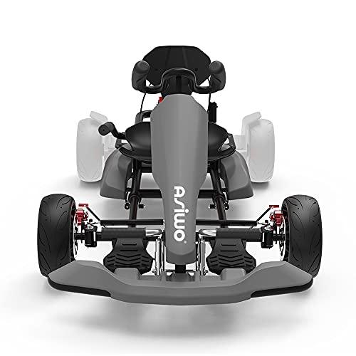 Asiwo HoverKart, Hoverboard Kart Aufsatz, GoKart Sitz Umbausatz für...