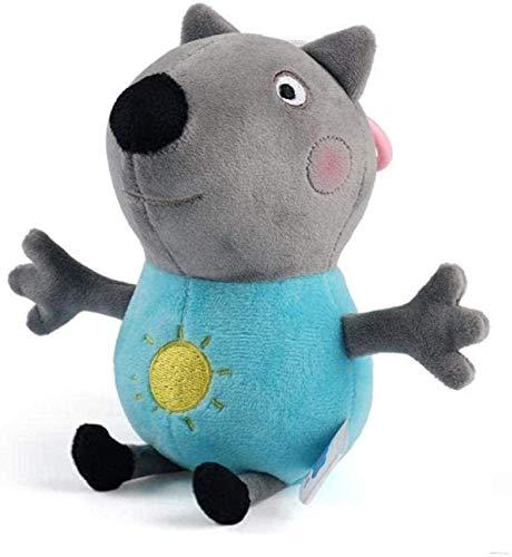SongJX-Love 19cm Original Peppa George Pig Tier Gefüllte...