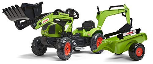 Falk–2040N–Outdoor-Spielzeug–Baggerlader Claas Arion...