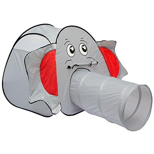 LittleTom Elefanten Bällebad Spielzelt 100x100x102cm -...