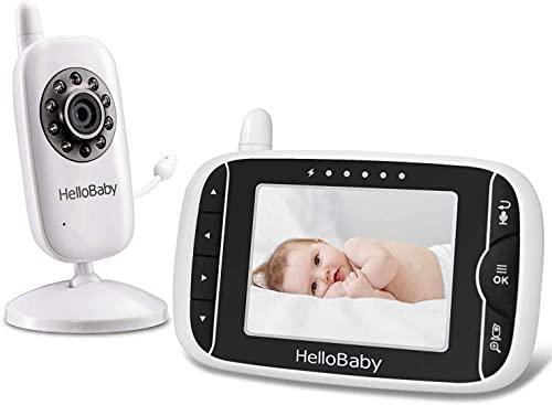 Video Babyphone mit Kamera und Audio, Halten Babys Kinderzimmer mit...