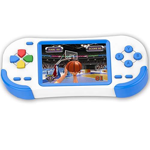 Bornkid 16 Bit Handheld Spielekonsole für Kinder und Erwachsene mit...