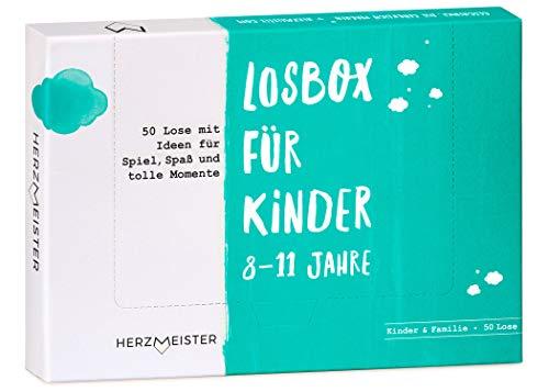 NEU: Losbox für Kinder 8 – 11 Jahre I Das Geschenk für Mädchen...