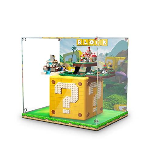 YAKI Acryl Vitrine Schaukasten für Lego 76391 Hogwarts Icons...