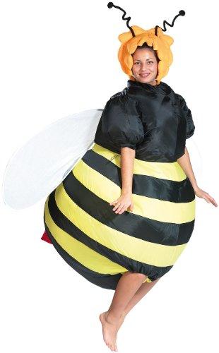 Playtastic Faschingskostüm: Selbstaufblasendes Kostüm Fette Biene...