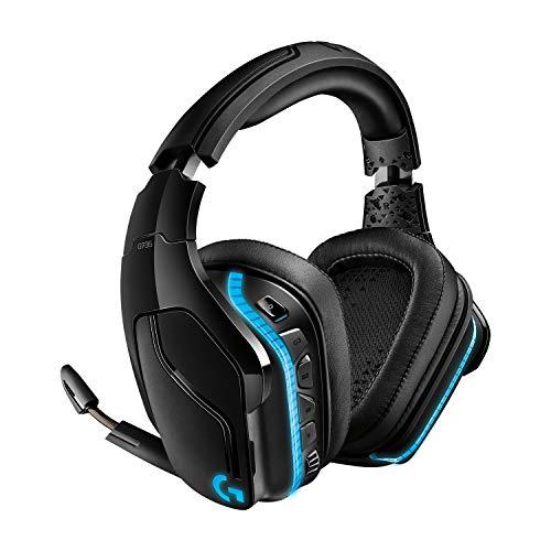 Logitech G935 kabelloses Gaming-Headset mit LIGHTSYNC RGB, 7.1...