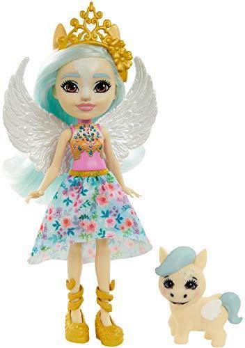 Enchantimals GYJ03 - Paolina Pegasus Puppe & Wingley Tierfreundin...