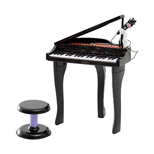 HOMCOM Kinder Klavier Mini-Klavier Piano Keyboard Musikinstrument MP3...