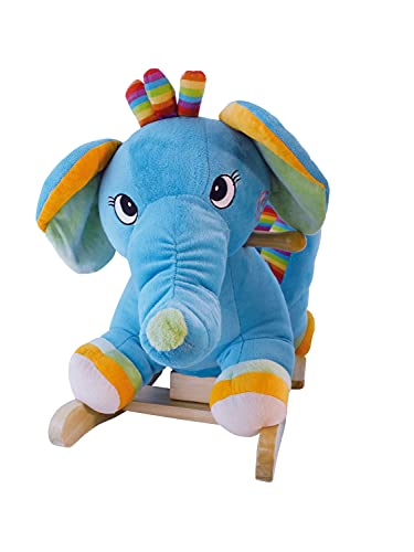 Bieco Plüsch Schaukeltier Elefant | Kinder Schaukelstuhl mit... *