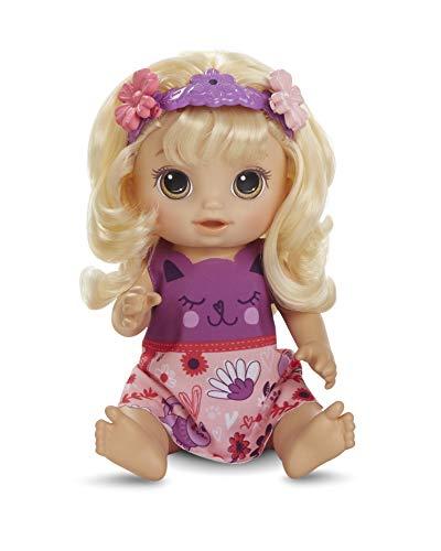 Baby Alive Haarzauber Baby mit blondem Haar, sprechende Puppe mit...