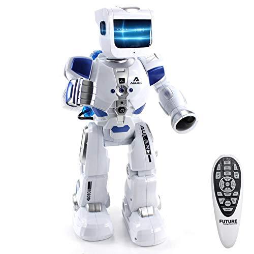 AUTOECHO Elektrischer Fernbedienungsroboter, Multifunktionaler Interaktiver RC-Roboter War Warrior...