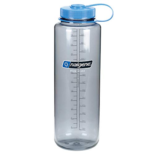 Nalgene Kunststoffflaschen Everyday WH Silo Trinkflasche, Grau, 1.5 L
