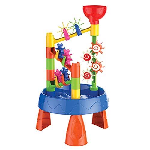 FuYouTa Großer Sand- und Wassertisch für Kinder, Gartensandkasten,...