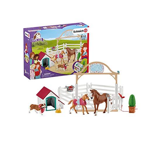 Schleich 42458 Horse Club Spielset - Horse Club Hannahs Gastpferde mit...