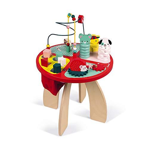 Janod Spieltisch Baby Forest aus Holz - Stapeln,...