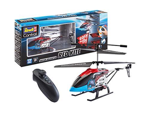 Revell 23834 Control RED Kite RC Einsteiger Hubschrauber RTR, rot, One...