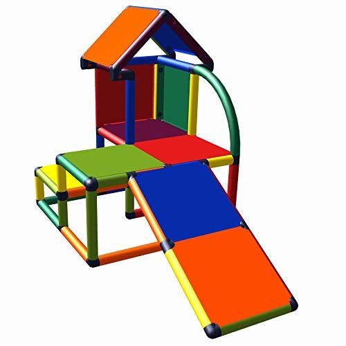 move and stic Mila Spielhaus mit Kleinkindrutsche für Kinderzimmer...